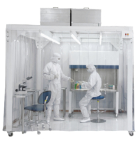 Softwall Modular Cleanroom - Class 1 Air